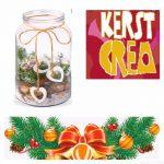 Crea-workshop Kerststuk in een glazen pot
